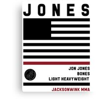 Jon Jones Fight Camp Canvas Print
