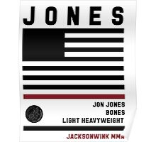 Jon Jones Fight Camp Poster