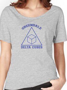 Greendale Delta Cubes Frat Women's Relaxed Fit T-Shirt