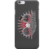 Evil Troy & Evil Abed iPhone Case/Skin