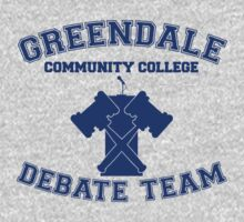 Greendale Debate Team Kids Tee