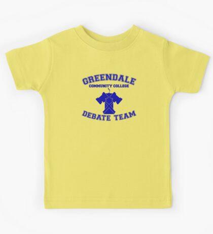 Greendale Debate Team Kids Tee