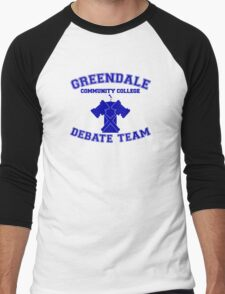 Greendale Debate Team Men's Baseball ¾ T-Shirt