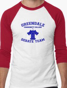 Greendale Debate Team Men's Baseball ¾ T-Shirt
