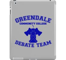 Greendale Debate Team iPad Case/Skin