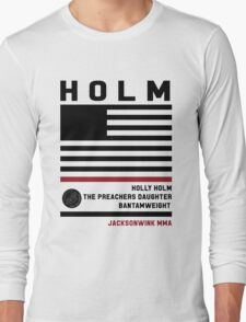 Holly Holm Fight Camp Long Sleeve T-Shirt