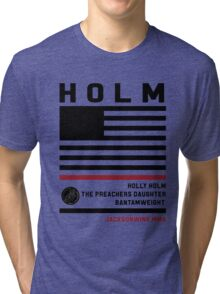 Holly Holm Fight Camp Tri-blend T-Shirt