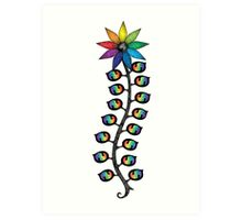 Spirit Vessel Link's Spirit (Rainbow) Art Print