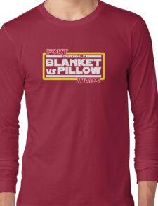 Greendale Fort Wars: Blanket vs Pillow Long Sleeve T-Shirt