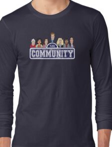 Community Street Long Sleeve T-Shirt