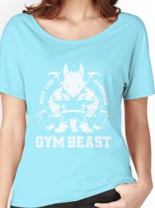 Not the average GYM BEAST Women's Relaxed Fit T-Shirt