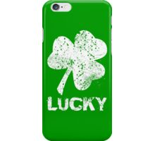 Vintage Lucky Shamrock iPhone Case/Skin