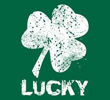 Vintage Lucky Shamrock Unisex T-Shirt