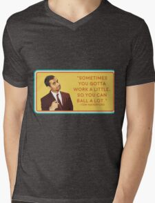Ball a Lot Mens V-Neck T-Shirt