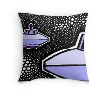From the Beamship Portal COLORIZED Throw Pillow