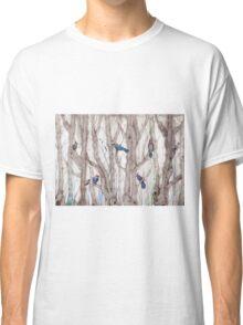 blue trees Classic T-Shirt