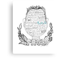 Page Canvas Print