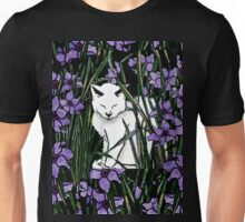 Bianca and purple flowers Unisex T-Shirt