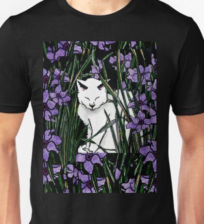 Bianca and purple flowers Unisex T-Shirt