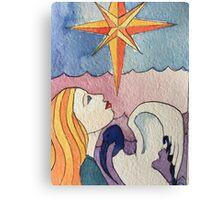 The Star Tarot Card Canvas Print