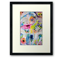 Watermelons have brains Framed Print