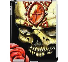 Skull and Rose iPad Case/Skin