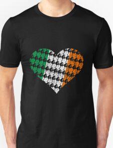 Irish Flag Heart Unisex T-Shirt