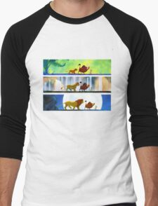 Lion King: Hakuna Matata Men's Baseball ¾ T-Shirt