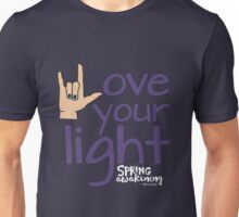 Love Your Light - DWSA Unisex T-Shirt