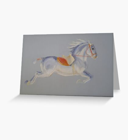 Lipizzaner Horse Greeting Card