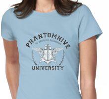Phantomhive University (White) Womens Fitted T-Shirt