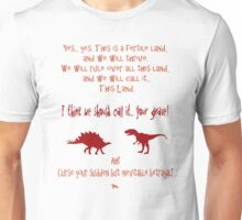 curse your sudden but inevitable betrayal, firefly, red Unisex T-Shirt