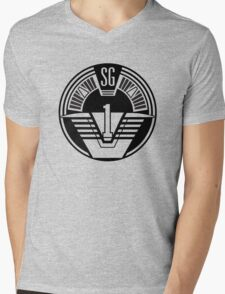 Stargate SG-1 Mens V-Neck T-Shirt