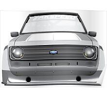 Ford Escort MK2 Poster