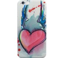 Your Heart is in the Right Place iPhone Case/Skin