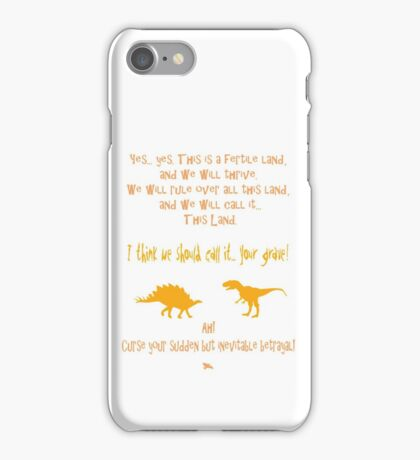 curse your sudden but inevitable betrayal, firefly, orange iPhone Case/Skin