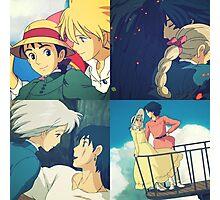 Sophie and Howl - Studio Ghibli Photographic Print