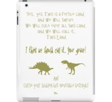sudden but inevitable betrayal, firefly, olive green iPad Case/Skin