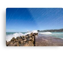 Lyall Bay Today Metal Print