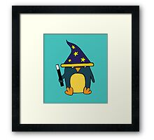 Wizard Penguin  Framed Print