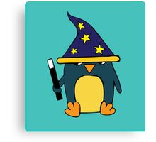 Wizard Penguin  Canvas Print