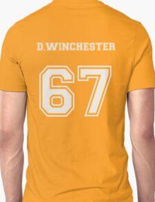 D.Winchester sports jersey  Unisex T-Shirt
