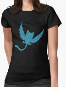 Blue Happy, Fairy Tail Anime Womens Fitted T-Shirt