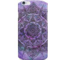 Marbled Purple Mandala iPhone Case/Skin