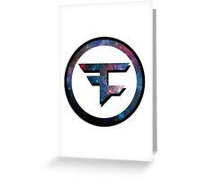 Faze Clan Galaxy Greeting Card