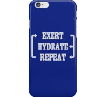 Workout Exercise Gym Weight iPhone Case/Skin