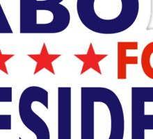 Dabo For President Sticker