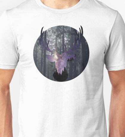 Starry Stag Unisex T-Shirt