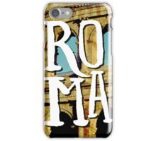 Roma Colosseum Italy Architecture Wanderlust Europe iPhone Case/Skin