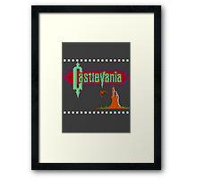 Castlevania Title Screen Framed Print